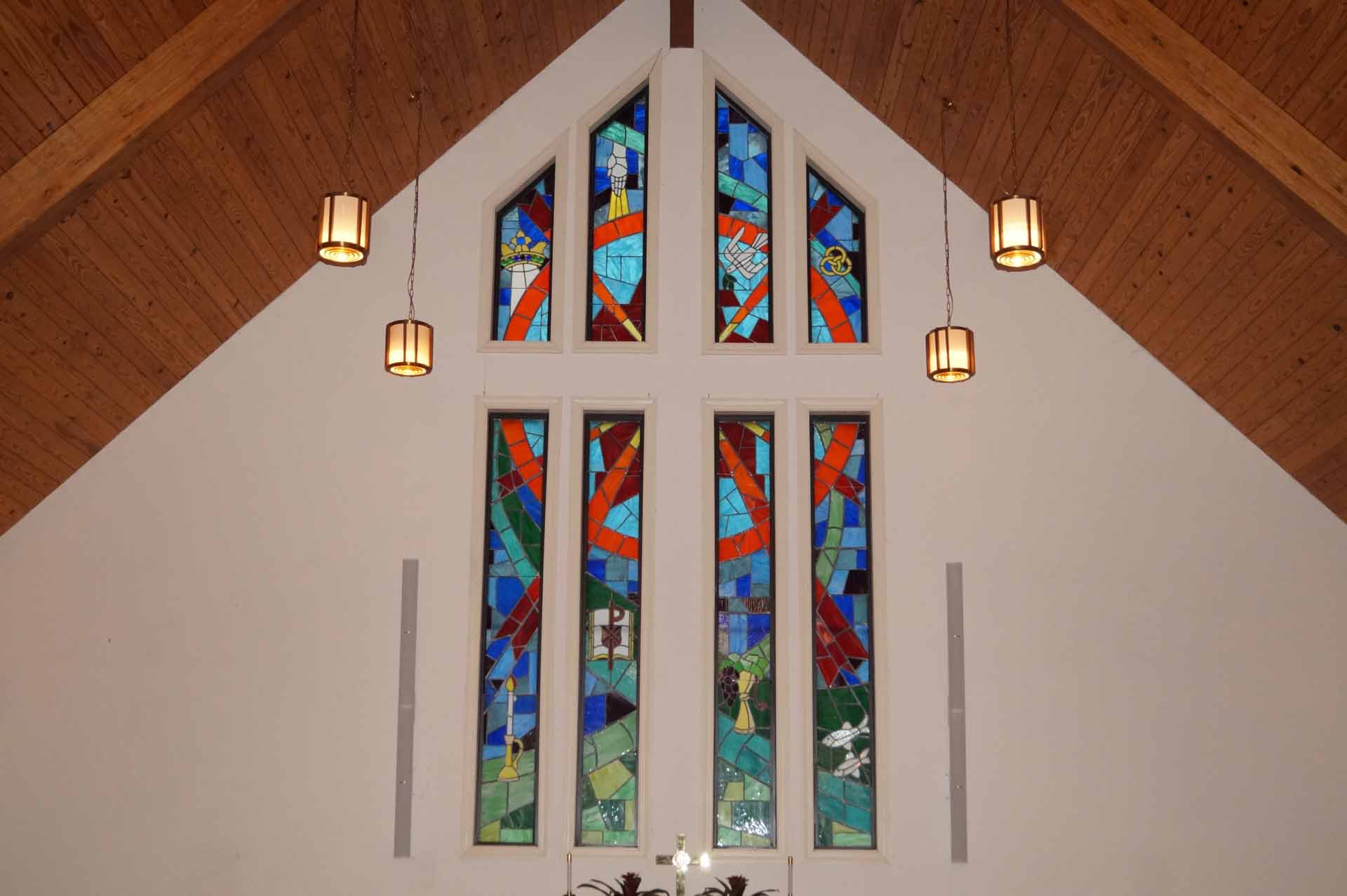 PUMC Stained Glass